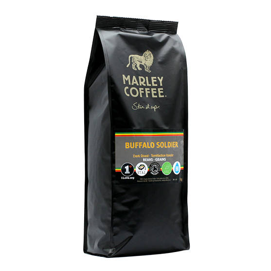 Marley Coffee Buffalo Soldier! 1kg zrnková