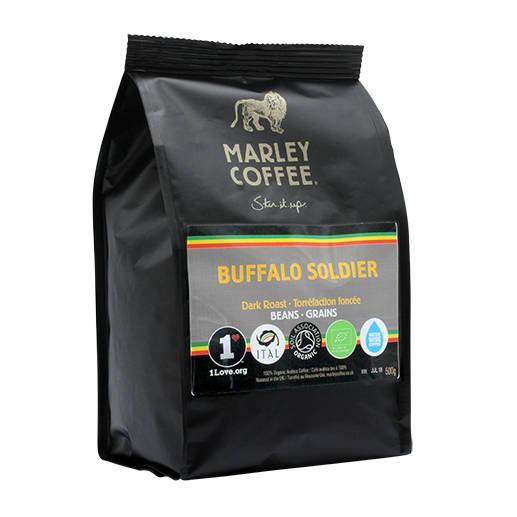 Marley Coffee Buffalo Soldier! 500g zrnková