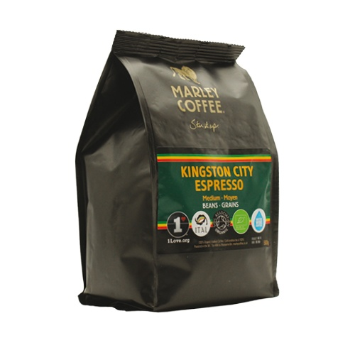 Marley Coffee Kingston City Espresso! 500g zrnková